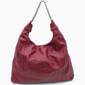 Authentic Chanel Maroon bag
